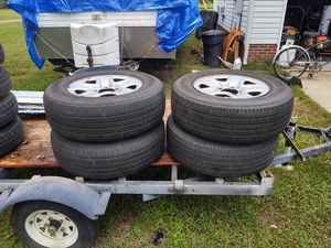 4 used tires & toyota rims for Sale in Richmond, VA