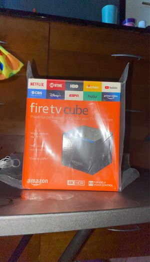 Amazon fire tv cube for Sale in Los Angeles, CA