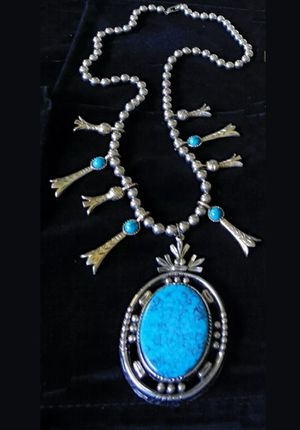 Squash blossom necklace for Sale in Gilbert, AZ