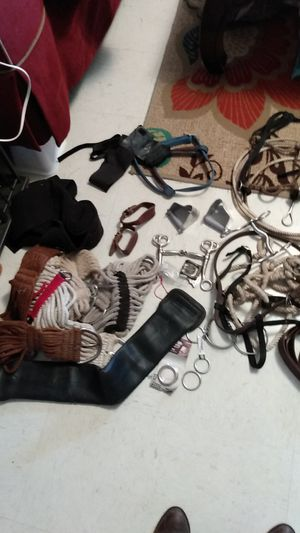 Horse tack lot for Sale in Hominy, OK