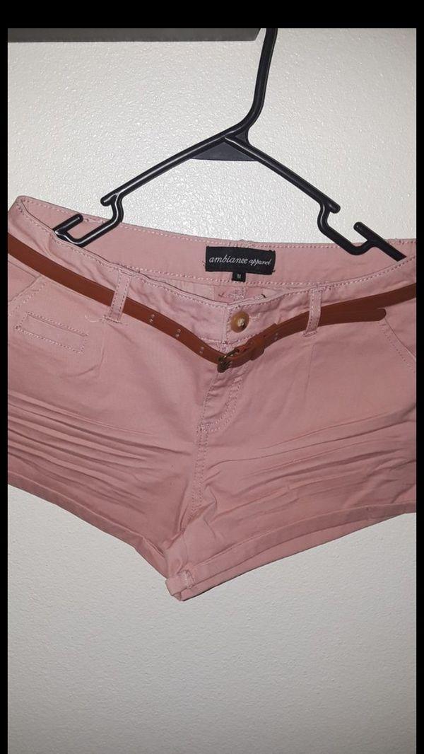 Blush pink short