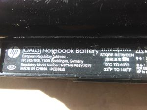 "Hp OA03 notebook battery ""spare"" for Sale in Obetz, OH"
