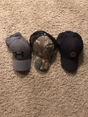 Under Armauor, Timberland and Camouflage Hats for Sale in Houston, TX