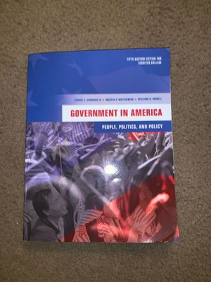Political Science book (Government in America) for Sale in Downey, CA