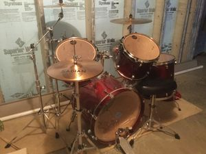 Ultra Rare TAMA Starclassic Drum Set Made in Japan for Sale in York, PA