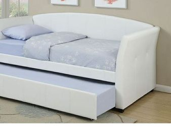 CLOSEOUTS LIQUIDATION SALE BRAND NEW TWIN SIZE DAY BED FRAME WITH TRUNDLE ADD MATTRESS ALL NEW FURNITURE PDX9259 for Sale in Ontario,  CA