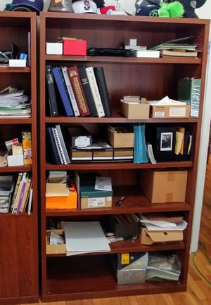 Ikea Bookcase Walnut finish for Sale in Ruston, WA