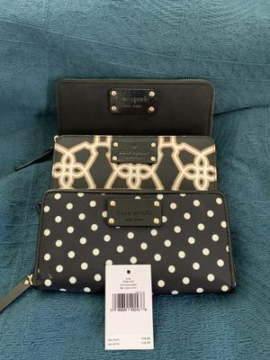 Kate Spade Black Neda Wallet. You pick. for Sale in South Hill, WA
