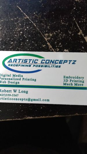 Personal Print/Digital Media for Sale in Arlington, WA