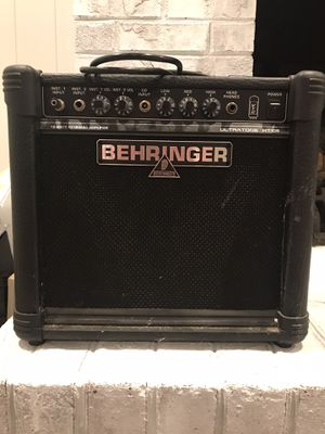 Behringer Amp (Ultratone KT108) for Sale in Virginia Beach, VA