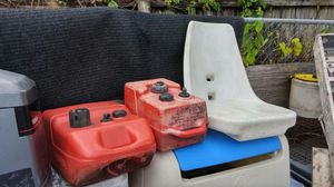 Small boat seat no hard ware just seat for Sale in Miami, FL