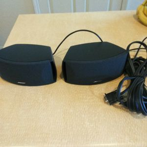 Bose 321 Cinemate Speakers with Cables for Sale in Phoenix, AZ