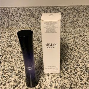 Armani Code Perfume 2.5 oz Eau De Parfum Spray (New) for Sale in Buena Park, CA