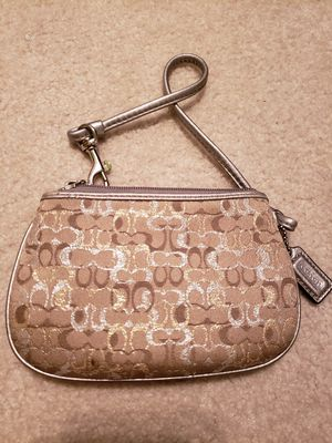 Monogran coach wristlet/coin purse for Sale in West Jordan, UT