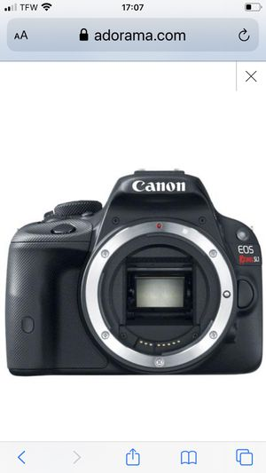 "Used Canon EOS Rebel SL1 DSLR Camera Body Only, 18.0MP, 3.0"" Clear View II Touchscreen LCD, Full HD 1080 Video with Continuous AF E- for Sale in Brooklyn, NY"