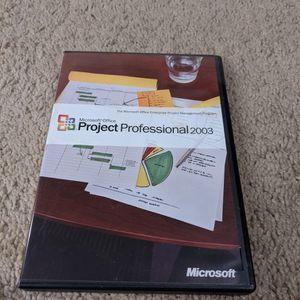 Microsoft Office Project Professional 2003 for Sale in Wheaton, IL