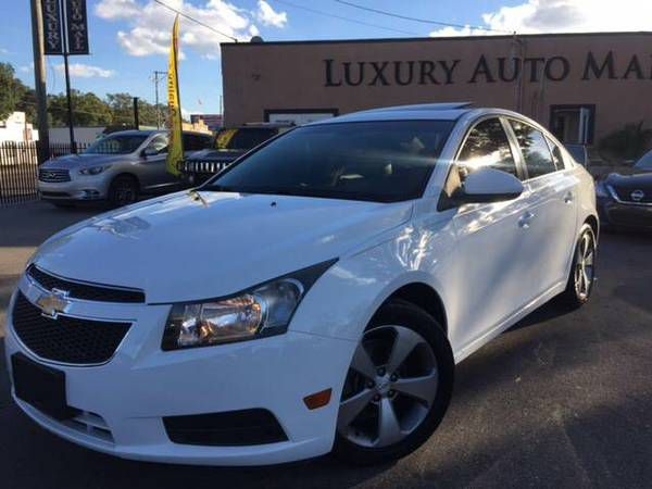 CHEVROLET CRUZE LT '13 TURBOCHARGER// $1500 DOWN $212 MONTHLY-$5500(7414 N FLORIDA AVE TAMPA (Please ask for Toris luxury auto mall
