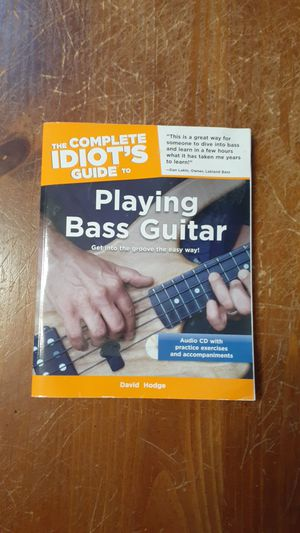 Playing Bass Guitar with CD for Sale in Centennial, CO