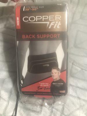 Copper Fit Back Support for Sale in Martinsburg, WV