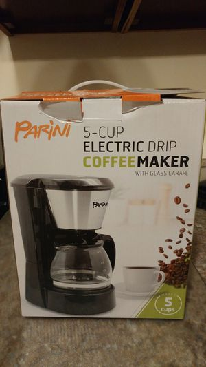 Parini 5 cup coffee maker for Sale in Baltimore, MD