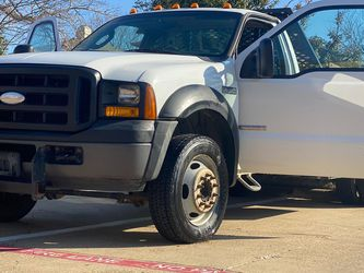 2007 FORD F-550 FLATBED WITH GOOSENECK HITCH for Sale in Carrollton,  TX
