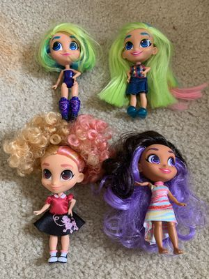 Hairdorables lot of 4 $20 FIRM for Sale in Springfield, VA