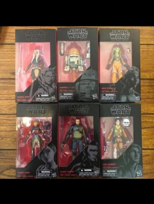 Star Wars Black Series Rebels Collectible Action Figure Toys ( Various Prices in Description Below ) for Sale in Chicago, IL