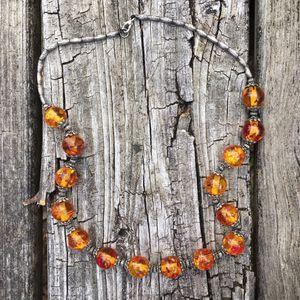 Amber necklace for Sale in Cordova, AL