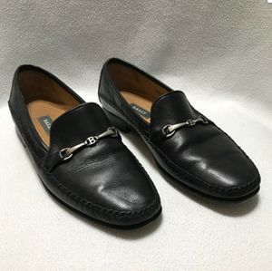 BALLY Switzerland Men's 9.5D STENAL Black Leather Driving Loafer Made In Italy for Sale in Los Angeles, CA