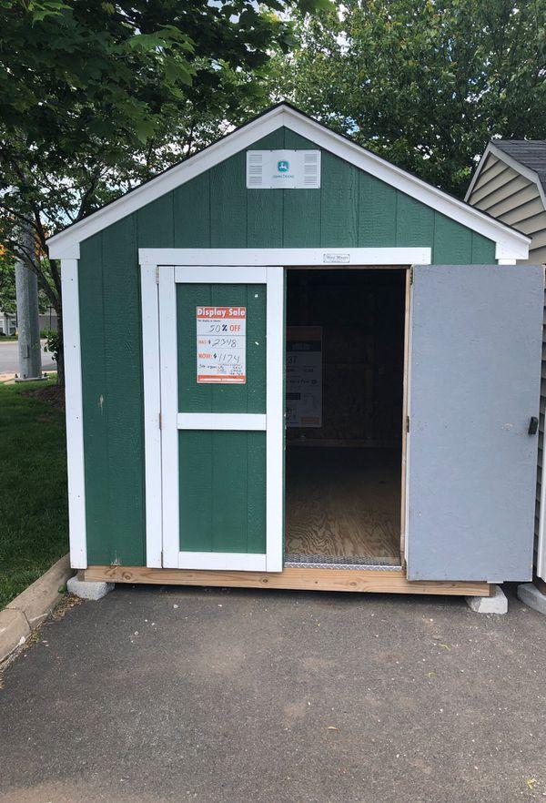 8 x 12 shedsusa shed at Ashburn Home Depot