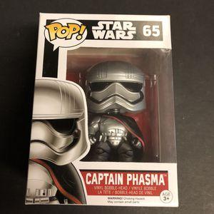 Star Wars - Funko Pop - Captain Phasma for Sale in San Antonio, TX