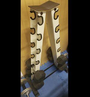 York 6 Pair A-Frame Dumbbell Rack for Sale in Garden Grove, CA