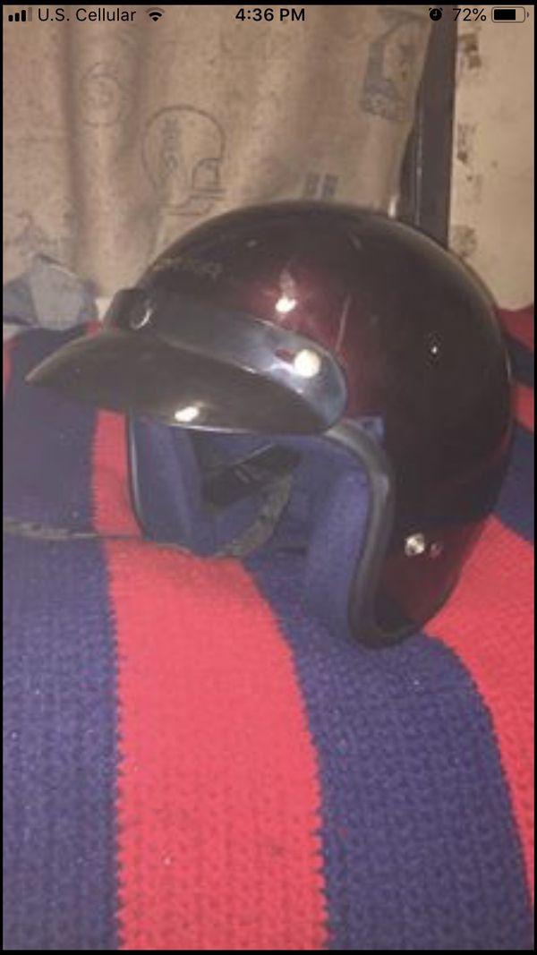 Cyber motorcycle helmet