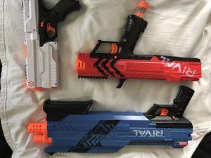 Nerf rival guns for Sale in Egg Harbor City, NJ