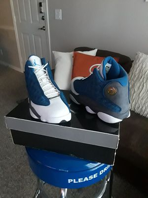 2010 Air Jordan 13s flint size 8.5 with original box used one time in real good condition $300 Pick up in east Dallas for Sale in Dallas, TX