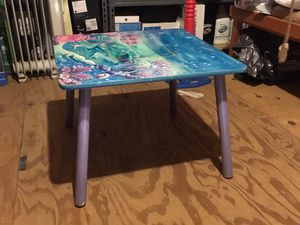 Kids table - Under the Sea theme for Sale in Raleigh, NC