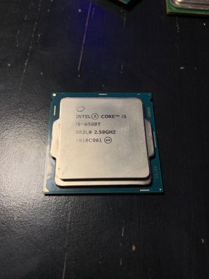 I5-6500T 2.50GHZ for Sale in Farmers Branch, TX
