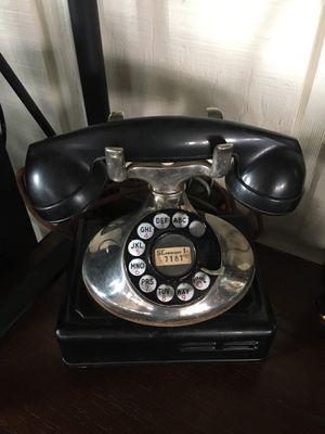 Vintage desktop telephone with ringer box $90 for Sale in Varna, IL