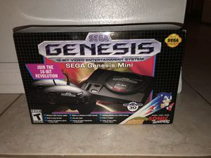 Brand New Sega Genesis Mini for Sale in Orlando, FL