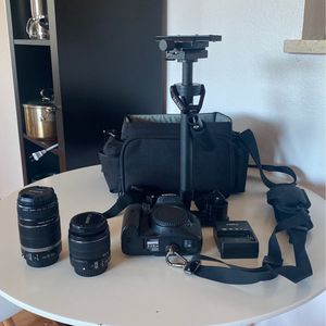 CANON 7D & LENSES (NEW) for Sale in Hayward, CA