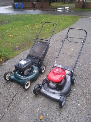 Honda and Craftsman Lawnmowers for Sale in Tacoma, WA