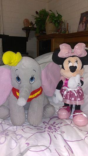 Adorable plush Dumbo & Minnie mouse for Sale in Phoenix, AZ