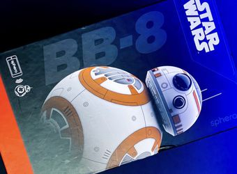 BB-8 Star Wars Droid Robot 🤖App Controllable🤖 for Sale in Elk Grove,  CA