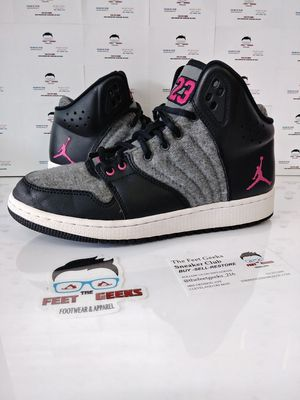 AIR JORDAN 1 FLIGHT GS KIDS SHOES SIZE 5.5Y EXCELLENT USED CONDITION$25 for Sale in Cleveland, OH