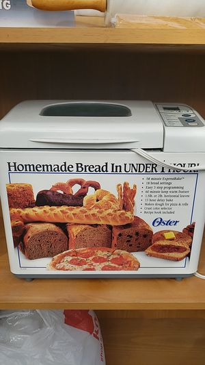 Oster Bread Maker for Sale in Ontario, CA