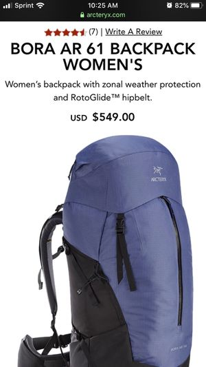 Arc'teryx Women's Backpack for Sale in Denver, CO