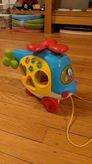 Vtech baby toy sort and go helicopter for Sale in Portland, OR