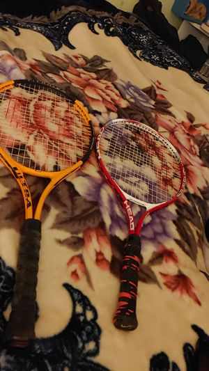 Two tennis rackets $5 for both for Sale in Stockton, CA