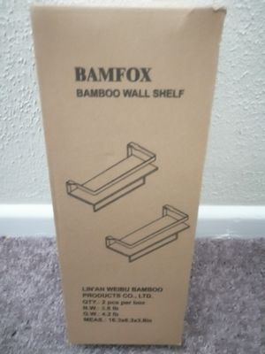 Wall Mounted Floating Shelves Bamfox for Sale in Rockville, MD