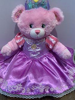 Build A Bear Workshop Princess Rapunzel Bear for Sale in Sylmar,  CA